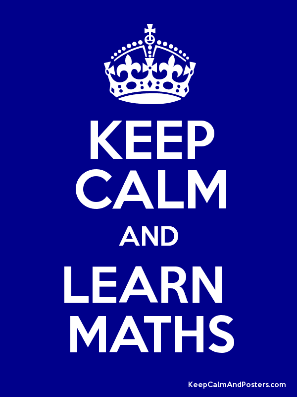 maths keep calm